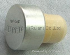 涂层铝成瓶塞 TBPC14.7-22.5-15.5-11.8