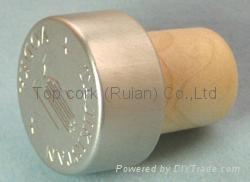 涂层铝成瓶塞 TBPC18.3-27.8-20.5-13.8 1