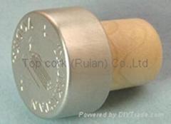 涂层铝成瓶塞 TBPC18.3-27.8-20.5-13.8