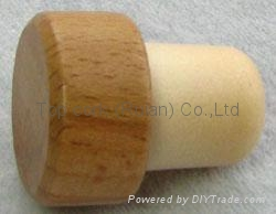 木头帽瓶塞 TBW19.5-29.6-20.7-15.1 1