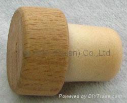 木头帽瓶塞 TBW19.5-29.6-20.7-15.1 2
