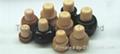 Wooden cap synthetic cork bottle stopper TBW25-45-21-45 2
