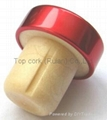 cork stopper with a releasing air groove TBEGR19.7-30.8-20-10.6