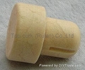 cork stopper with a releasing air groove