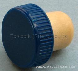 plastic cap cork bottle stopper TBP18.2-28.5-18.4-10 2