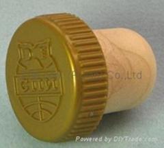 plastic cap cork bottle stopper TBP19.4-28.9-20.2-10