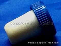 plastic cap cork bottle stopper TBP19.5-28.5-25-10.1
