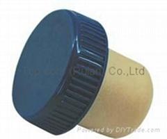 plastic cap cork bottle stopper TBP20-28.5-19.4-10.1