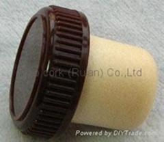 plastic cap cork bottle stopper TBP20.5-30.6-19.4-10.1