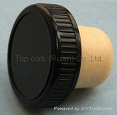 plastic cap cork bottle stopper TBP22-35-19.2-10.1