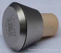 plastic cap cork bottle stopper TBP24.2-30-48-21.5-28