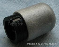 cork stopper for adhesive joining TBX18.5-16.4-20-7.4
