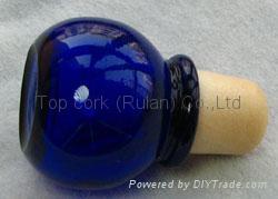玻璃帽瓶塞 TBGL20-27.8-40.5-19.4-38 1