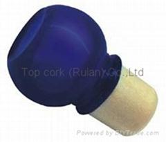 玻璃帽瓶塞 TBGL22-27.8-40.5-20.6-38