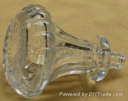 Glass cap cork bottle stopper TBGL22.5-39.9-72.7-21.4-102.2