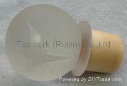 玻璃帽瓶塞 TBGL22.5-32.6-43.4-21.5-46.1 1