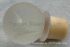 玻璃帽瓶塞 TBGL22.5-32.6-43.4-21.5-46.1