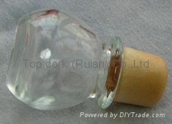 玻璃帽瓶塞 TBGL24.4-32.4-43.8-21.8-45.1 1
