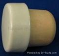 Ceramic cap cork stopperTBCE28.1-36.1-21.5-13.3-30.1 g 1