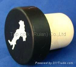 电镀铝帽瓶塞TBE19-29-20.5-10.5-6.5g 1