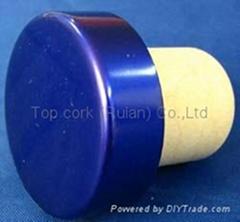 电镀铝帽瓶塞TBE19-30.8-20.6-10.3-7.1g