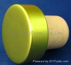 电镀铝帽瓶塞TBE19-30.8-20.6-10.3-7.4g 1
