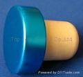 电镀铝帽瓶塞TBE19-30.8-20.6-10.3-7.5g 1