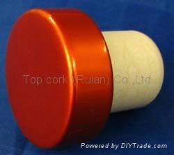 電鍍鋁帽瓶塞TBE19-30.8-20.6-10.8-7.4g 1