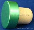 plated aluminium cap bottle stopperTBE19-30.8-20.6-10.8-7.5g