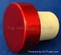plated aluminium cap bottle stopperTBE19.2-30.8-20.6-10.8-7.4g