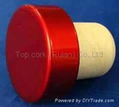 电镀铝帽瓶塞TBE19.2-30.8-20.6-10.8-7.4g
