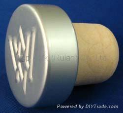 电镀铝帽瓶塞TBE20.1-30.8-20.6-10.6-7.5g 1