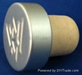 電鍍鋁帽瓶塞TBE20.1-3