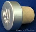 plated aluminium cap bottle stopperTBE20.1-30.8-20.6-10.6-7.5g