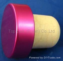 電鍍鋁帽瓶塞TBE21.7-33.3-22.3-11.2-9.2g 1