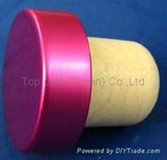 电镀铝帽瓶塞TBE21.7-33.3-22.3-11.2-9.2g