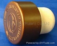 電鍍鋁帽瓶塞TBE22.4-33.3-19.4-16.0-1