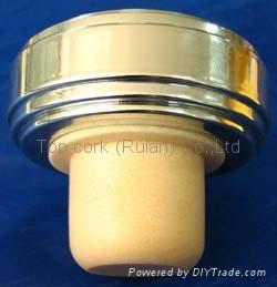 plastic cap cork bottle stopper TBP27-54.4-22.6-22.6-35.2g 1