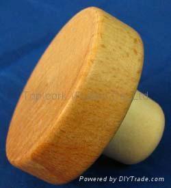 木頭帽瓶塞 TBW22-49-20.8-15-24g 1