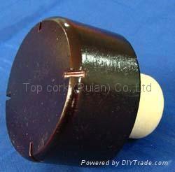 木头帽瓶塞TBW24-47.5-21.7-24.8-37.9g 1