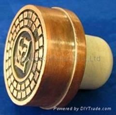 鋅合金蓋瓶塞 TBZA23-40-21.7-15.6-107g