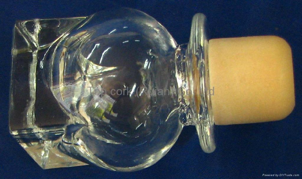 玻璃帽瓶塞 ZLD24-37.9-44.7-51.4-107.7g 1