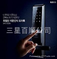 2014款三星指纹锁SHS-p705