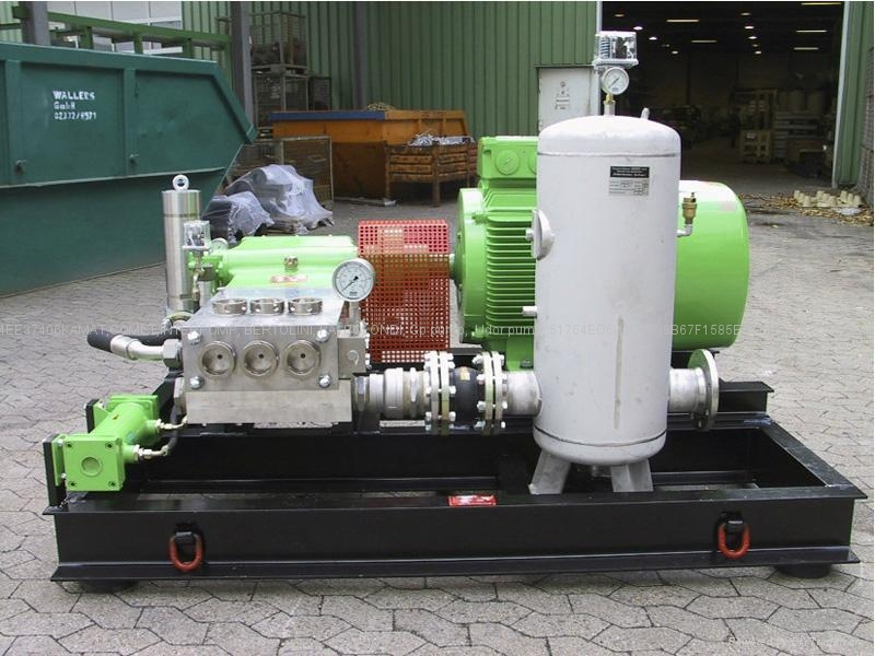 1300BAR德国卡玛特超高压水泵