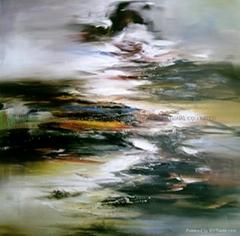 抽象油畫2