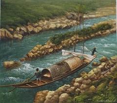 風景油畫 2