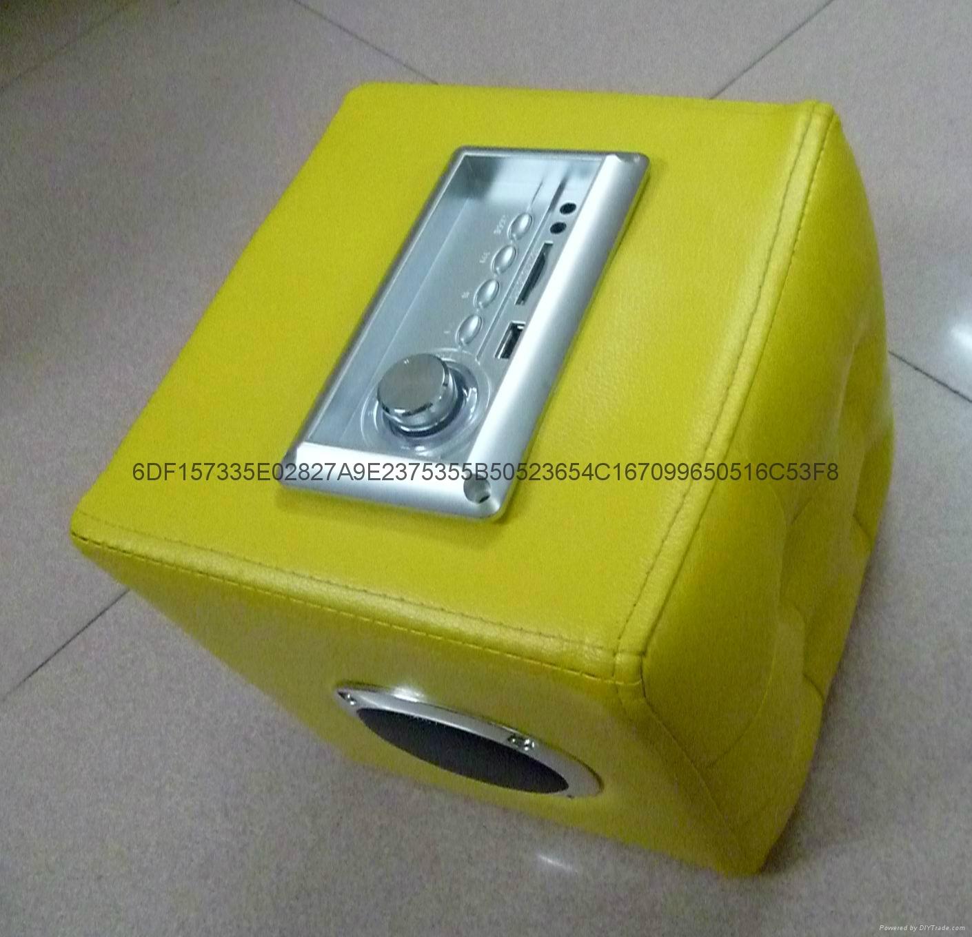 2.1声道家具触摸MP3蓝牙播放器 5