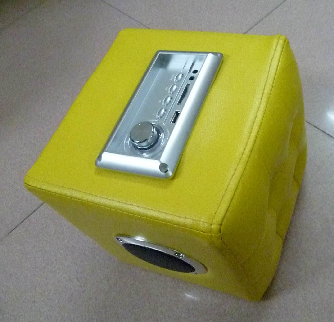 双USB床褥音响 蓝牙家私音响 智能家具 沙发音响套件 凳子插卡蓝牙音响 4