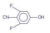 3,5-difluoro-4-cyanophenol