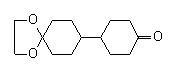 4-(1,4-Dioxaspiro[4,5]deca-8-yl)cyclohexanone 1